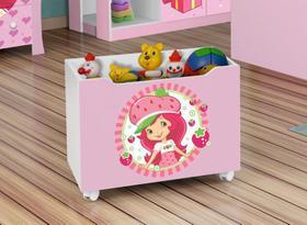 Caixa para Brinquedos Lara Moranguinho