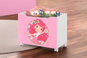 Caixa Para Brinquedos Lara- Moranguinho