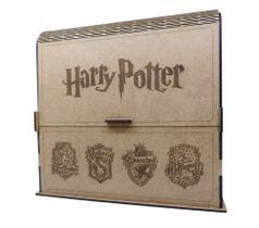 Caixa Para Livros Harry Potter 8 Vol. Capa Dura Box Coleção