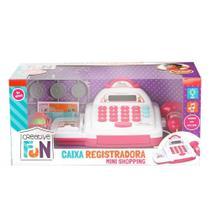 Caixa Registradora Creative Fun Multikids Mini Shopping - Rosa MULTILASER
