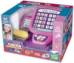 Caixa Registradora Infantil Little Shop 15 Peças