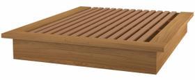Cama de Casal Morfeu cor Freijo 1,65 MT (LARG) - 59044