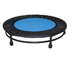 Cama Elástica Mini Jump Profissional 32 Molas Com Capa Azul