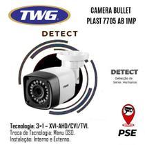 Câmera Bullet Hd Twg -tw 7705 Ab- Infra 20 Mts - Lente 2.8mm