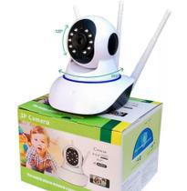 Camera Hd 720P Wireless 3 Antenas  Wifi Infra P2P - Ipcamera