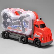 Caminhão senninha com maleta carro ferramentas e acessórios