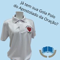 Camisa apostolado da oração gola polo piquet
