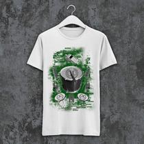 Camiseta X9 Paulistana Algodão - PN1000 verde