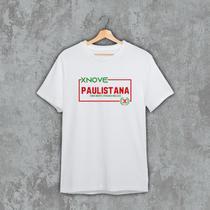 Camiseta X9 Paulistana Algodão - XNove