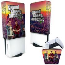 Capa Anti Poeira e Case Controle PS5 - GTA V