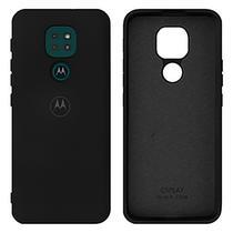 Capa Aveludada Silicone  Motorola G9 Play