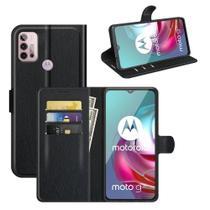 Capa Capinha Carteira Motorola Moto G10, G20 e G30 Case Couro Flip Top