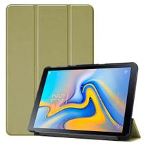Capa Capinha Case Smart Tablet Galaxy Tab A7 T500 T505 Tela 10.4 Couro Aveludada High Premium