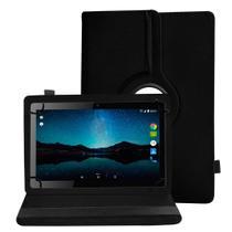 Capa Capinha Tablet Multilaser M10 M10a 3G 4G Tela 10 Polegadas Couro Giratória Inclinável Premium
