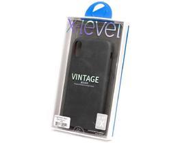 Capa X-Level (Vintage Series) Apple iPhone X/XS - Preto