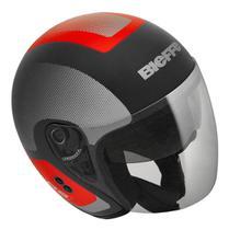 Capacete Aberto Moto Bieffe Allegro Doccia Com Óculos Solar