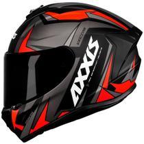 Capacete Axxis Draken Vector Black/ Grey/ Red