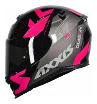 Capacete Axxis Eagle Diagon Gloss Black/pink