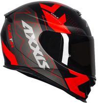Capacete Axxis Eagle Diagon Matt Black/Gray/Red