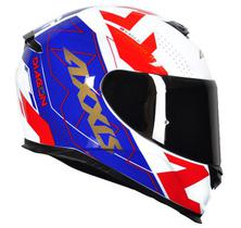 Capacete Axxis Eagle Diagon White/Blue/Red