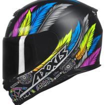 Capacete Axxis Eagle Dreams Matt Black/Grey TAM 58