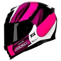 Capacete Axxis Eagle Tecno Black/ White/ Purple