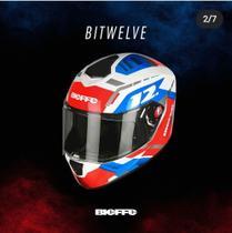 Capacete bieffe b12 smart trip Bluetooth
