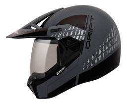 Capacete Masculino Motocross Bieffe 3 Sport Drift 3 Em 1.