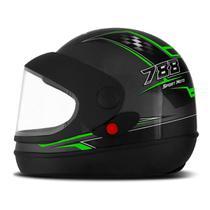 Capacete Moto Automático Pro Tork Super Sport Moto Grafite