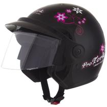 Capacete Moto Feminino Pro Tork Liberty 3 For Girls