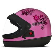 Capacete Moto Feminino Pro Tork Sport Moto For Girls