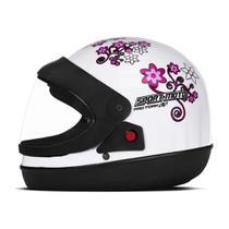 Capacete Sport Moto Feminino BC 56  Pro Tork