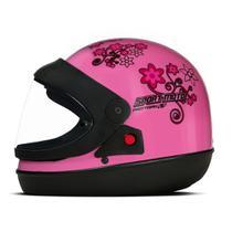 Capacete Sport Moto Feminino RS 56  Pro Tork