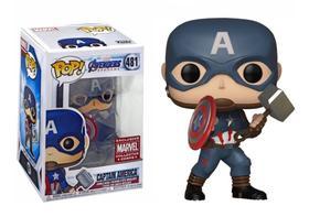 Captain America - Funko Pop - Marvel - Avengers - Collectors Corps Exclusive - 481