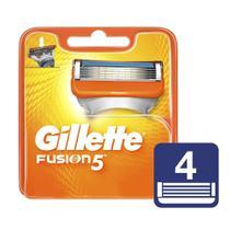 Carga Gillette Fusion5 c/4 Unidades