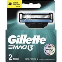 Carga Gillette Mach 3 Refil c/2