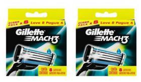 Carga Gillette Mach3 Regular Kit 16 Unidades