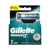 Carga Mach3 Gillette - Embalagem c/ 2 unidades