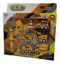 Carrinho Para Menino De Fricção Kit 5 Carros + Acessórios