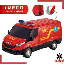 Carro Carrinho Iveco Daily Resgate Bombeiro com Acessórios