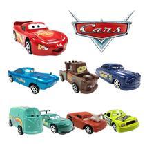 Carros Relampago Mcqueen Kit 8 Carrinhos Disney Pixar