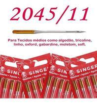 Cartela de agulha singer malha 204511 c/5