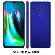 Celular Motorola Moto G9 Play 64gb Azul Dual XT2083