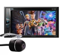 Central Multimídia Pioneer AVH-G228BT tela 6,2'' Bluetooth USB + Câmera de ré