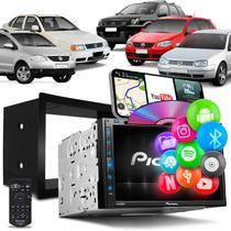 Central Multimídia Polo Golf Spacefox Fiesta Ecosport Pioneer AVH-Z5280TV DVD TV Espelha Android IOS