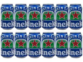 Cerveja Heineken 0.0 Pilsen Lager sem Álcool
