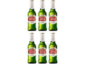 Cerveja Stella Artois Belgium Lager 6 Unidades