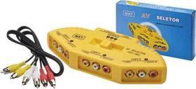 Chave Seletora Áudio E Vídeo 3 Para 1 5 5 005 - Mxt