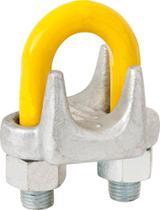 """Clips para cabo de aço 5/16"""" pesado galvanizado - Vonder Plus"""