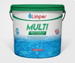 Cloro Estabilizado 3x1 - 10kg- Limper